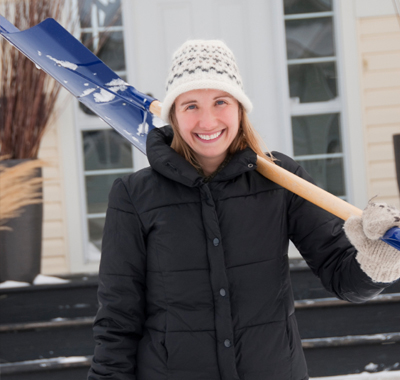 A few basic tips and tricks can help make your snow shoveling a breeze.