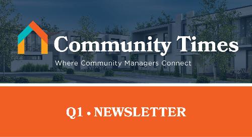 Community Times Newsletter - Q1