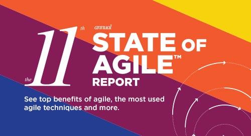 11th Annual State of Agile Report