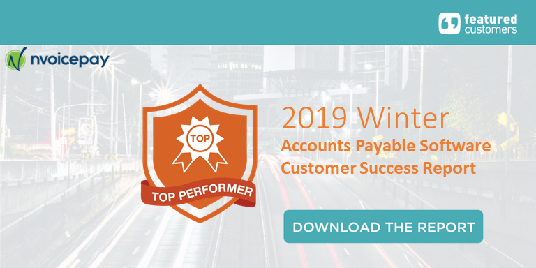 Nvoicepay named a Top Performer in Accounts Payable Software