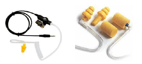 Embouts de communication de rechange Peltips et HearPlug PELTORMC 3MMC