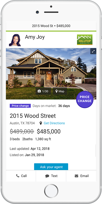Price Change Listing Alert