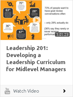 Leadership 201: Developing a Leadership Curriculum for Midlevel Managers | Ken Blanchard