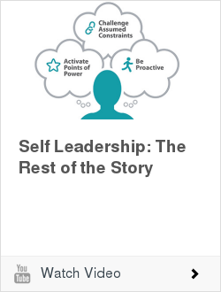 Self Leadership: The Rest of the Story | Ken Blanchard