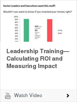 Leadership Training—Calculating ROI and Measuring Impact | Ken Blanchard