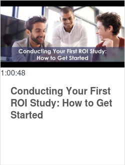 Conducting Your First ROI Study: How to Get Started