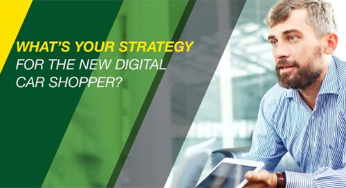 Digital Strategies for Lenders - The New Digital Car Shopper