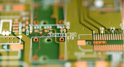 Bild eines PCB