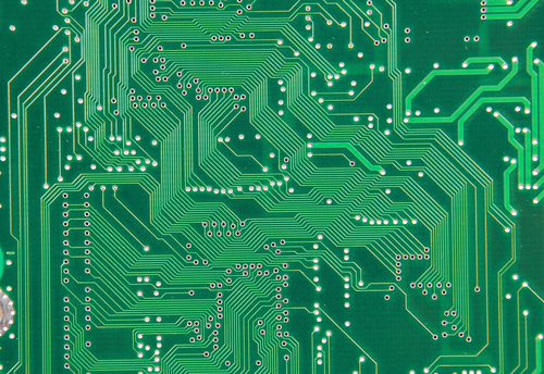 Einheitliches Routing auf einem PCB