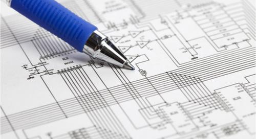 Ein PCB-Schaltplan