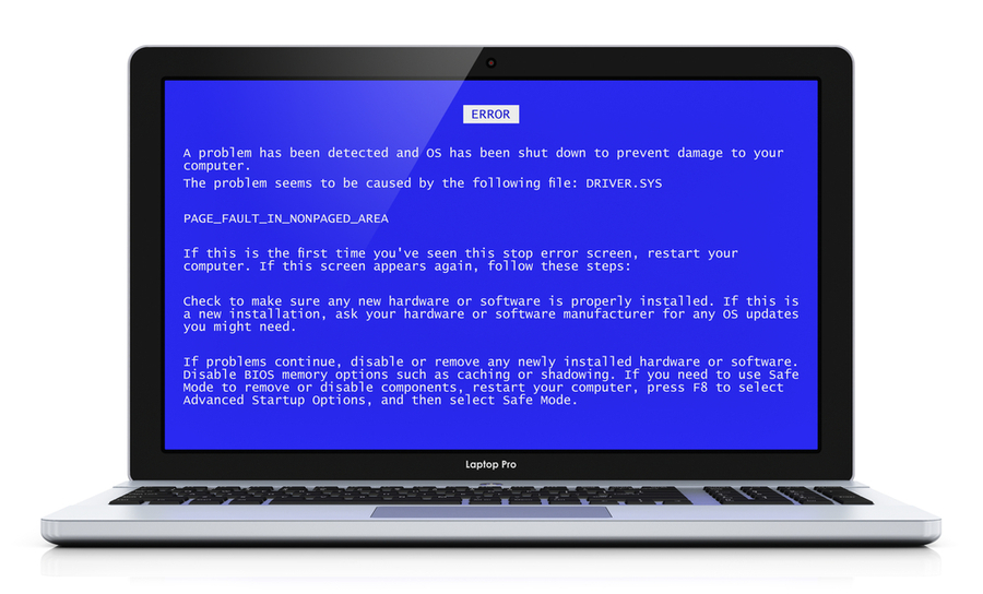 Der Blue-Screen