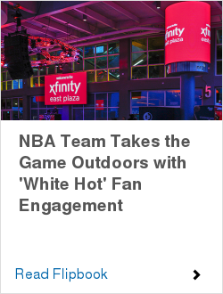 NBA Team Takes the Game Outdoors with 'White Hot' Fan Engagement