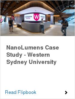 NanoLumens Case Study - Western Sydney University