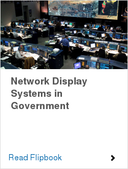 Network Display Systems in Government