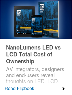 NanoLumens LED vs LCD Total Cost of Ownership