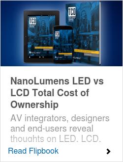 NanoLumens LED vs LCD Total Cost of Ownership