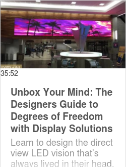 Unbox Your Mind: The Designers Guide to Degrees of Freedom with Display Solutions