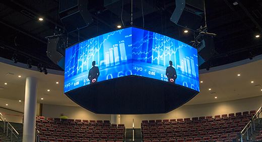 Acuity Upgrades Corporate Auditorium With Unique LED Displays