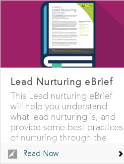 Lead Nurturing eBrief