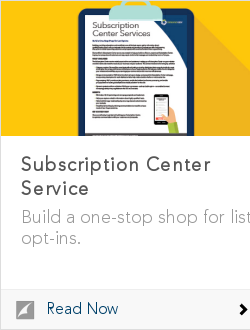 Subscription Center Service
