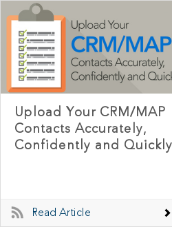 Upload Your CRM/MAP Contacts Accurately, Confidently and Quickly