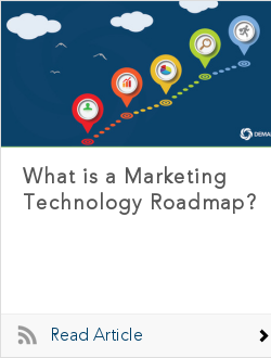 what is a marketing technology roadmap