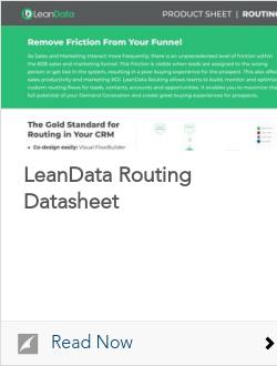 LeanData Routing Datasheet