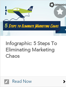 Infographic: 5 Steps To Eliminating Marketing Chaos