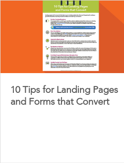 10 Tips for Landing Pages and Forms that Convert