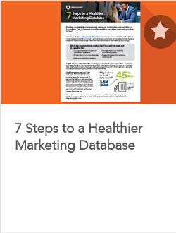 7 Steps to a Healthier Marketing Database