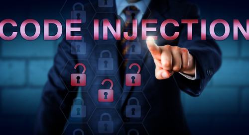 "Graphic saying ""Code Injection"""