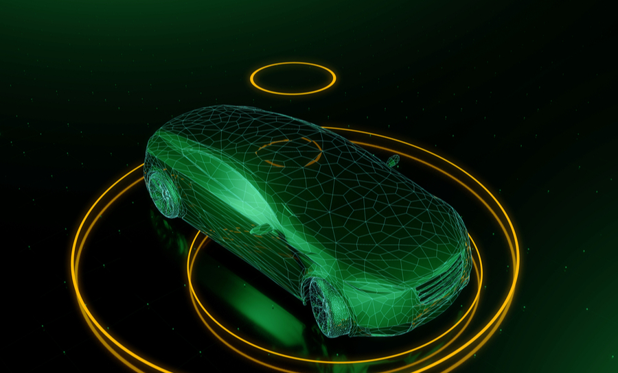 3D Autonomous car