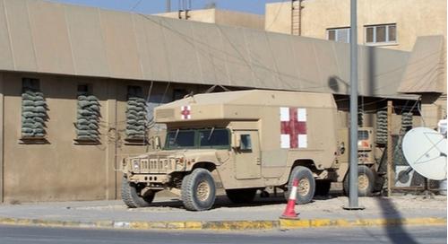 Humvee ambulance