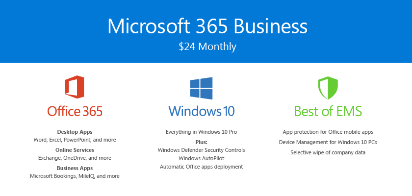 Microsoft 365 for Business