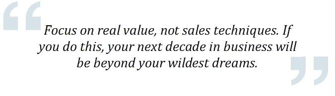 Value quote by James Becker