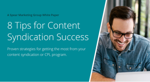8 Tips for Content Syndication Success