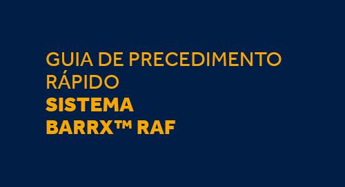 Guia de Cateteres e Protocolo de Utilização BARRX™ RFA