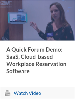 A Quick Forum Demo: SaaS, Cloud-based Workplace Reservation Software