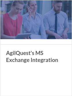 AgilQuest's MS Exchange Integration