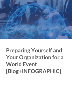 Preparing Yourself and Your Organization for a World Event [Blog+INFOGRAPHIC]