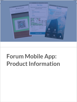 Forum Mobile App: Product Information