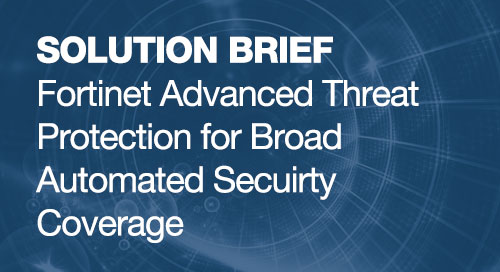 ATP Solution Brief: Broad Automated Security Coverage