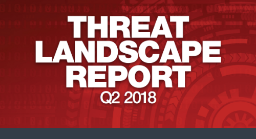 Infographic: Q2 2018 Threat Landscape Report