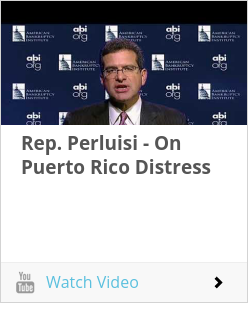 Rep. Perluisi - On Puerto Rico Distress