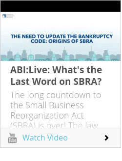 ABI:Live: What's the Last Word on SBRA?