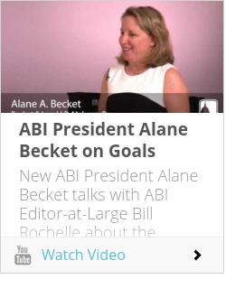 ABI President Alane Becket on Goals