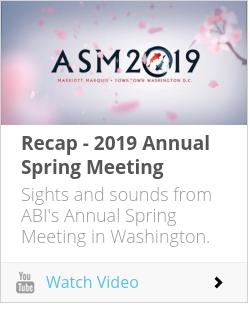 Recap - 2019 Annual Spring Meeting
