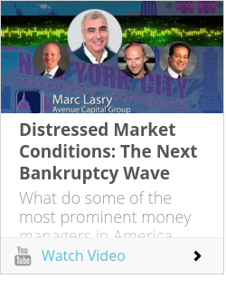 Distressed Market Conditions: The Next Bankruptcy Wave