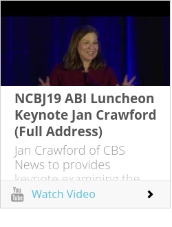 NCBJ19 ABI Luncheon Keynote Jan Crawford (Full Address)