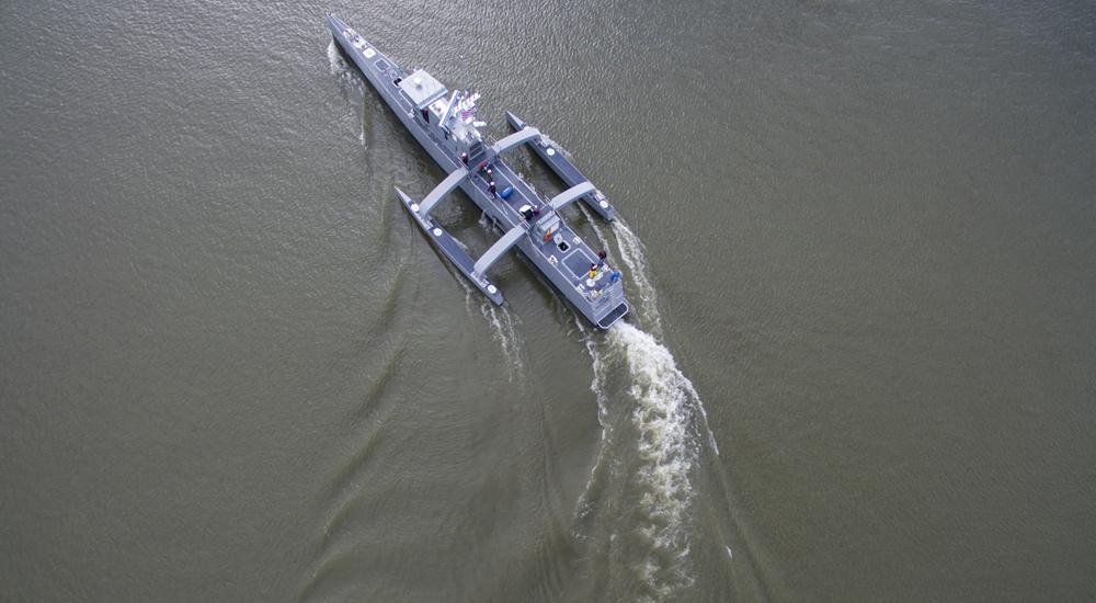 Sea Hunter, unmanned submarine